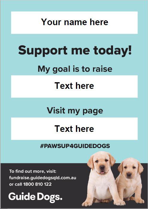 Fundraising Poster - Individual