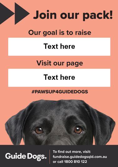 Fundraising Poster - Team